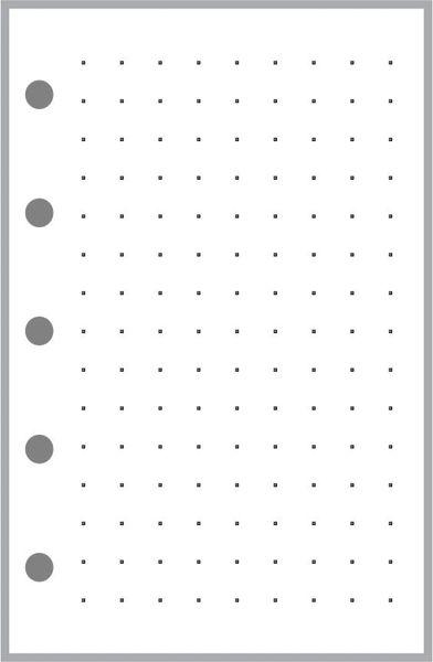 """FMI Dot Grid Paper (0.25"""")"""