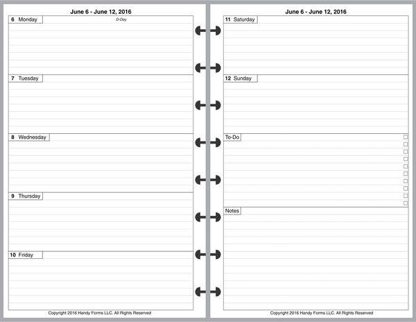 lvj weekly planner 2 pages per week 2 pages per month plus