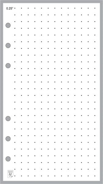 "FPL Dot Grid Paper (0.25"")"