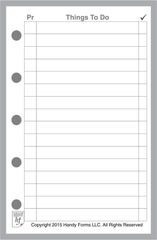 FMI To-Do Checklist with Priority