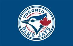Blue Jay Crest Flag