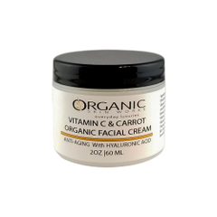 Vitamin C & Carrot with Hylauronic Anti Aging Face Cream 2 Oz