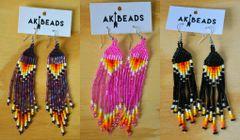 AK Beads Fringe Earrings
