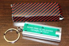 Kiowa Tribe of Oklahoma Flashlight Keychain