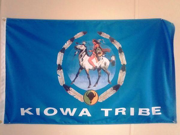 Kiowa Tribe Flag Kiowa Tribe Gift Shop