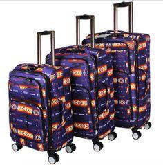 2pc Southwest Design Luggage Set