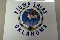 Kiowa Logo Round Sticker