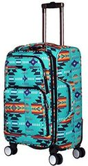 Southwest Design Carry On Luggage- Mint