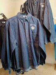 Kiowa Tribe Long Sleeve Denim Shirts