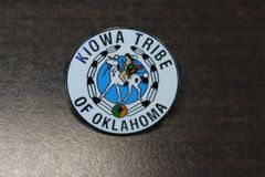 Kiowa Tribe Logo Hat Pin