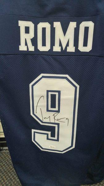 51ff4bec2 Dallas cowboys Tony Romo Autographed cusyom XL jersey. | D's Cards &  Memorabilia