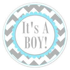Baby Shower Boy Personalized Favours