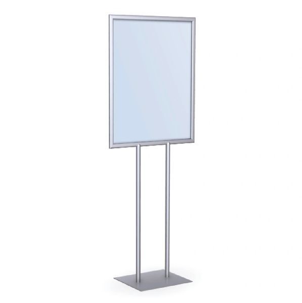 Double-sided poster signholder - Lightweight aluminum construction ...