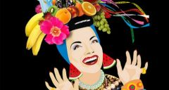 Carmen Miranda's Fruit Samba