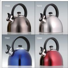 Prelude 2.1 Qt Stainless Steel Whistling Tea Kettle - All Stainless Steel