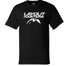 Longtail Duck Logo T-Shirt Short Sleeve Black