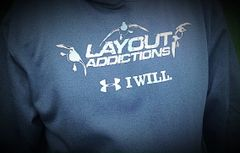 UA Cold Gear Carbon Sweatshirt Diver Ducks Logo