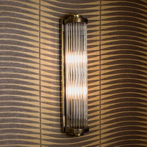 850B) Gatsby Art Deco Wall Light (Medium)   The Limehouse Lamp Co ...