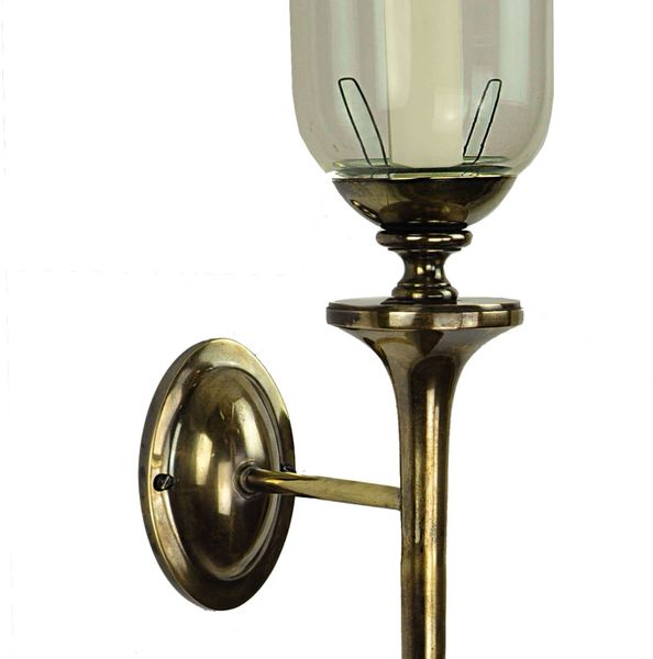 (721G) Grosvenor Wall Sconce With Storm Glass