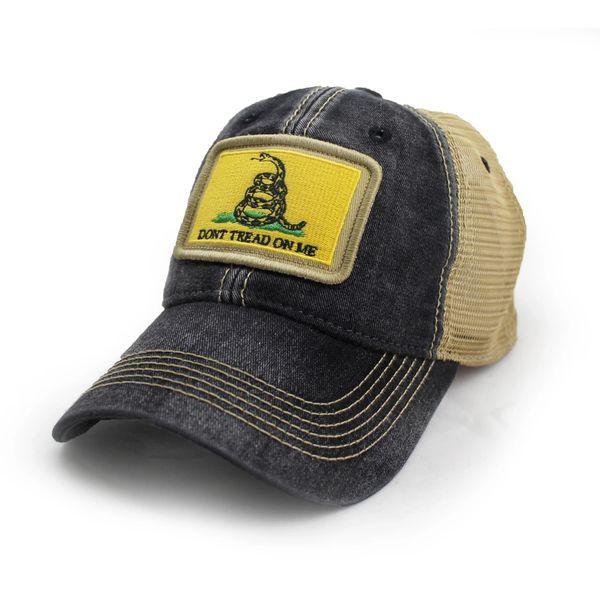 e369a55b6ba Gadsden Don t Tread on Me Flag Trucker Hat