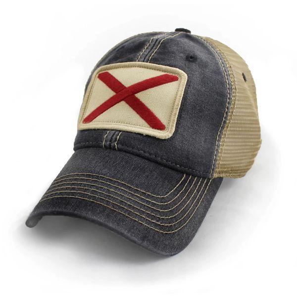 61656c2af8e Alabama State Flag Hat Black