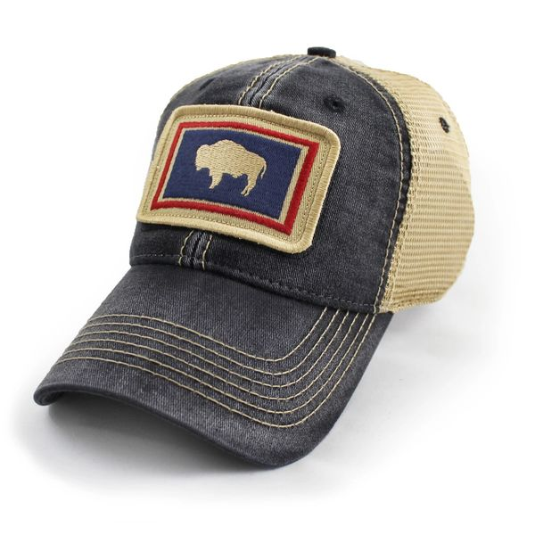 Wyoming State Flag Hat f42be1ffa