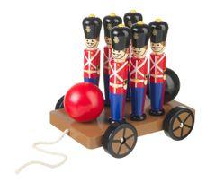 Soldier Skittles on Wheels
