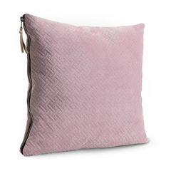 Pink Herringbone Cushion
