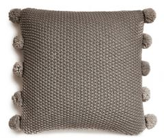 AL MOSS POM POM GREY Cushion
