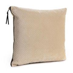 Cream Herringbone Cushion