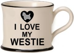 I love my Westie Mug by Moorland Pottery