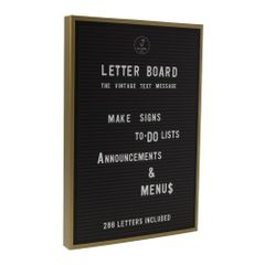 Retro Vintage Letterboard - gift of year finalist 2017