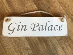 'Gin Palace' Sign by Austin Sloan