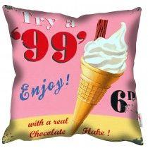 99 Flake - Martin Wiscombe - Art Print Cushion