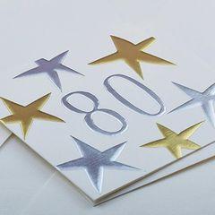 80 Star Card