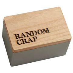 Random Crap Wooden Box