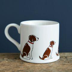 Springer Spaniel (liver & white) Mug