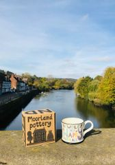 My Happy Place 'BEWDLEY' Mug by Moorland Pottery