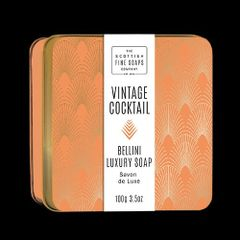 Vintage Cocktail Bellini Luxury Soap