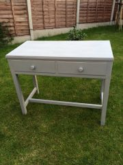 Shabby Chic Gordon Russell Console Table in Soft Grey