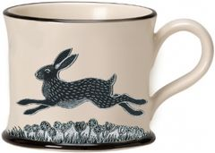 Hare Mug by Moorland Pottery
