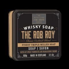 The Rob Roy Whiskey Soap by Scottish Fine Soaps