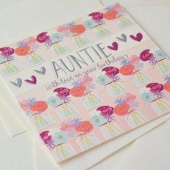 Auntie Card