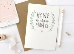 Home is where Mum is Card by Mrs Best