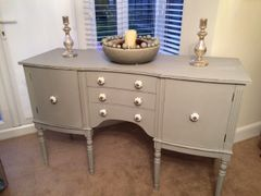SOLD - Shabby Chic Sideboard in Autentico Soft Grey
