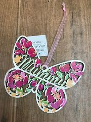 Beautiful Floral Butterfly 'Mummy'