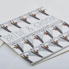 Wedding Card - Bride & Groom