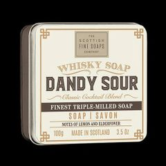 Dandy Sour Whiskey Soap by Scottish Fine Soaps