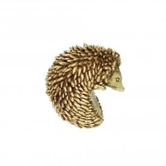 Gold Coloured Hedgehog Pot hanger by Parlane