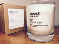 mooch CANDLES no.1 rhubarb & ginger